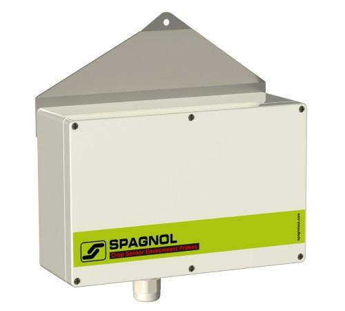 Sonde ambiante de température et d'humidité électronique blindée et ventilée. Connexion S-Bus
