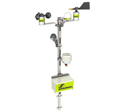 Example of modular COMBI weather station