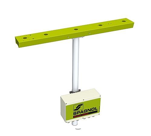Support horizontal pour capteurs météo.
